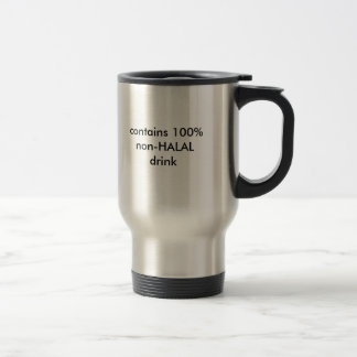 innehåller 100% denHALAL drinken Resemugg
