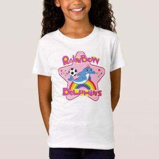 Inpassad T-tröja för flickor (ungdommen S-L) Tee Shirt