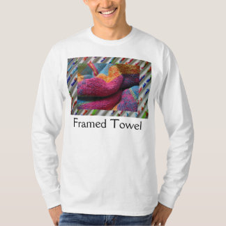 Inramad handduk t-shirts
