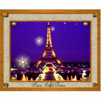Inramat Eiffel torn Photo Sculpture