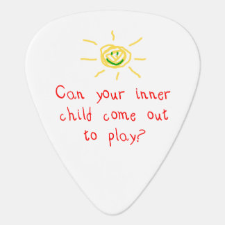 Inre barn gitarr plektrum