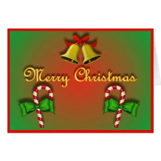 Inre fotomall för jul hälsningskort
