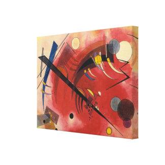 Inre puttra abstrakt målning canvastryck