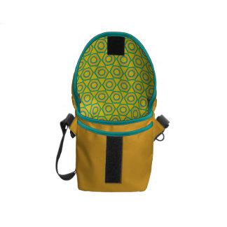 Inre tryck för mini- messenger bag