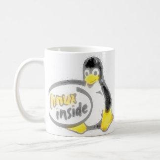 INRE Tux för LINUX Linuxpingvinlogotypen Kaffemugg