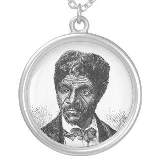 Inristat porträtt av afrikansk amerikan Dred Scott Skräddarsydda Halsband