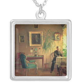Insida 1871 silverpläterat halsband