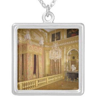 Insida av det Louis XIVS sovrummet, 1701-23 Silverpläterat Halsband