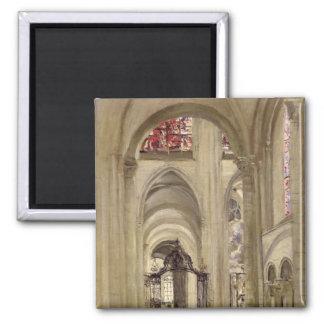 Insida av domkyrkan av St Etienne, Sens Magnet