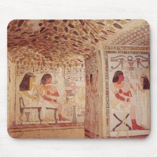 Insida av graven av Sennefer, nytt kungarike Musmatta