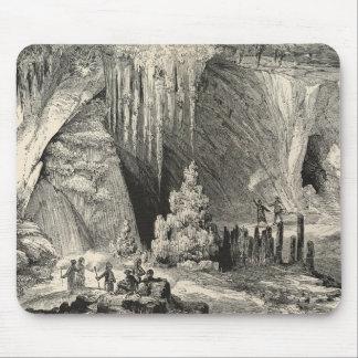 Insida av grottoen av Antiparos Musmatta