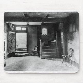 Insida av Johanns Sebastian Bach hus Musmatta