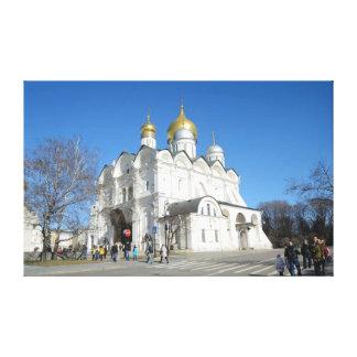 Insida av Moscow Kremlin Canvastryck