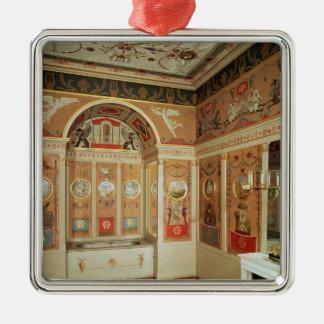 Insida av Napoleons badrum som byggas i 1807 Julgransprydnad Metall