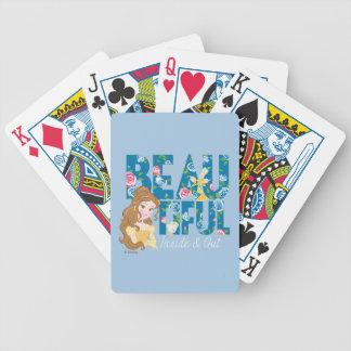 Insida för Belle   Beautfiul & ut Spelkort