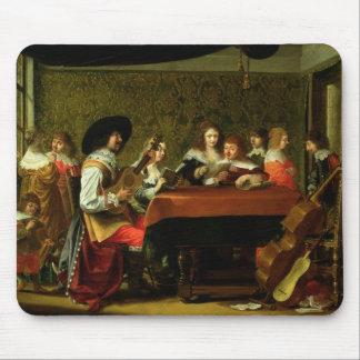 Insida med musiker och sångare musmatta