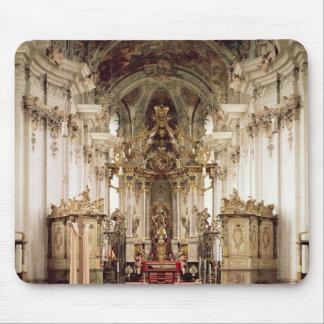 Insida som är designad vid Balthasar Neumann 1734- Musmatta
