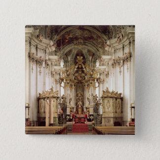 Insida som är designad vid Balthasar Neumann 1734- Standard Kanpp Fyrkantig 5.1 Cm