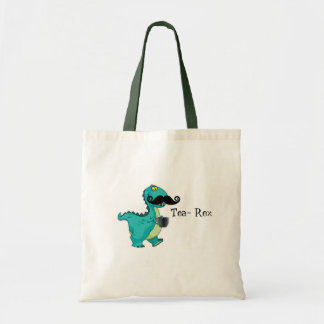 Insinuation för tecknad för teaRex rolig Dinosaur Tygkasse
