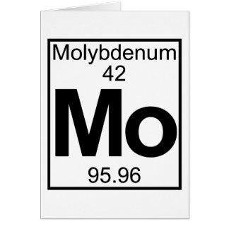 Inslag 042 - Mo - Molybdenum (fullt) Hälsningskort