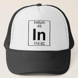 Inslag 049 - I - Indium (fullt) Truckerkeps