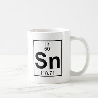 Inslag 050 - Sn - Tin (fullt) Kaffemugg
