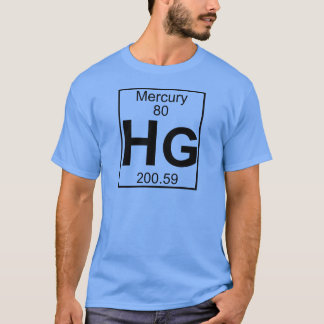 Inslag 080 - Hg - Mercury (fullt) T-shirt