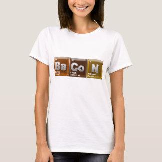 "Inslag som stavar ""BACON "", T-shirt"