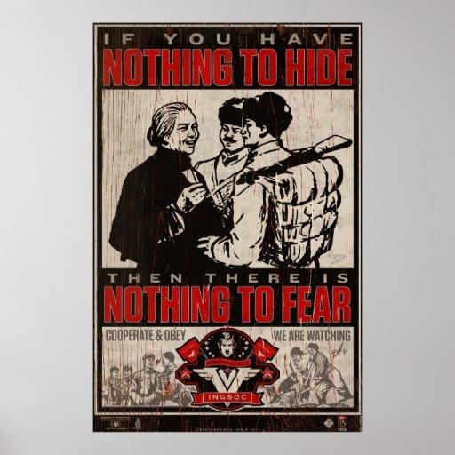 INSOC-propagandatryck 1984 Posters