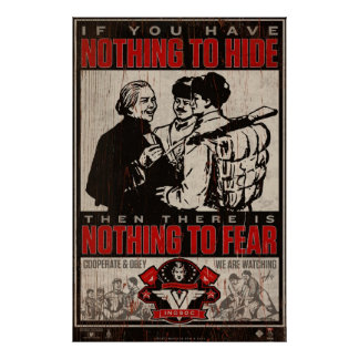 INSOC-propagandatryck 1984 Poster