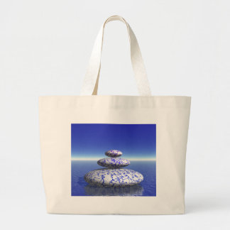 Inspiration för fred för kärlek för hav för jumbo tygkasse
