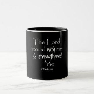 Inspirera bibelVerse Två-Tonad Mugg