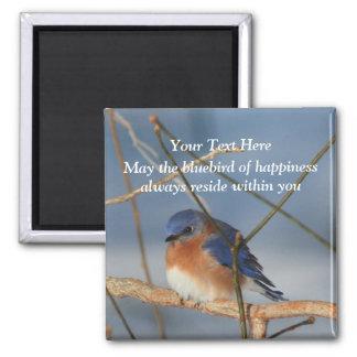 Inspirera blåsångare av lyckan magnet