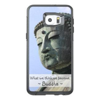Inspirera Buddha citationstecken OtterBox Samsung Galaxy S6 Edge Plus Skal