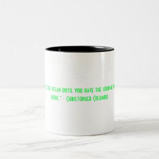 Inspirera Christopher Columbus kaffemugg