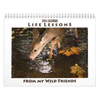 Inspirera djur kalender 2016