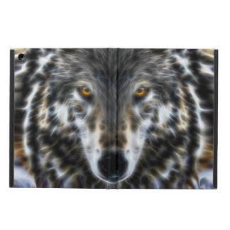 Inspirera grafiskt porträtt för varg iPad air skal