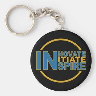 INSPIRERA nyckelringen, välj stil Rund Nyckelring