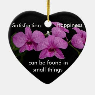 Inspirera Orchid Julgransprydnad Keramik