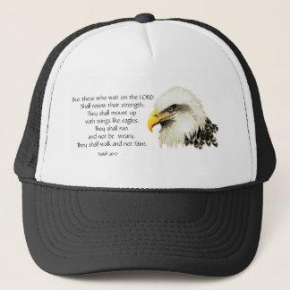 Inspirera örn - - Scripture - dem den väntan Keps