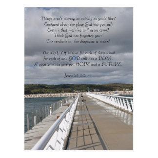 Inspirera vykort för Jeremiah 29:11