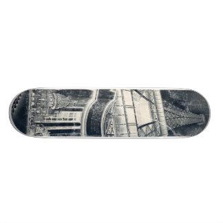 Inspirerad fransk old school skateboard bräda 18 cm