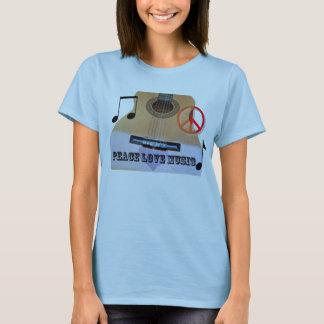 Inspirerad gitarr tee shirts