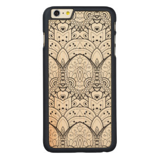 Inspirerad stam- illustration carved lönn iPhone 6 plus slim skal