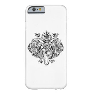 Inspirerad vintageindierelefant barely there iPhone 6 fodral