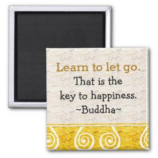 Inspireras citationstecken Buddha|Happiness Magnet