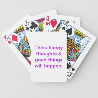 Inspireras leka kort spelkort