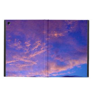 Inspireras solnedgångmoln och himmel iPad air skal