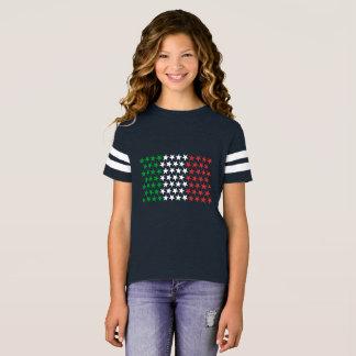 Inspirerat av italiensk flagga. Stjärnaupplaga T Shirts