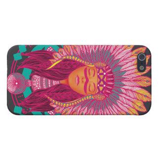 Inspirerat fodral för indier iPhone 5 hud